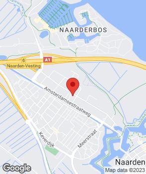Locatie Pon Dealer Naarden op kaart