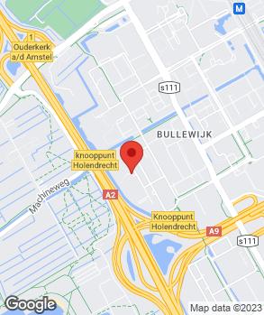 Locatie KAV Witkar B.V. op kaart