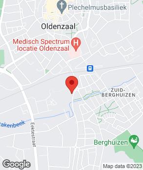 Locatie Munsterhuis Oldenzaal op kaart