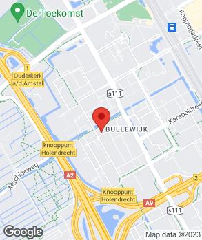 Locatie Citroën Zuidoost op kaart