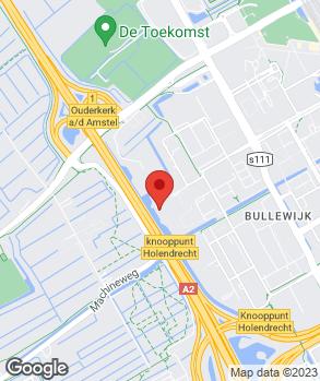 Locatie A-Point SEAT Amsterdam op kaart
