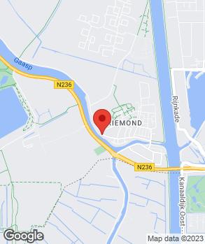 Locatie Garage Driemond op kaart