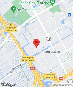 Locatie Kimman Amsterdam B.V. op kaart
