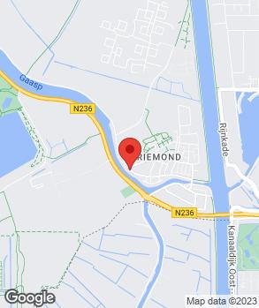 Locatie Autobedrijf J.E. Veldhuizen op kaart