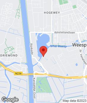 Locatie Autobedrijf De Baan op kaart