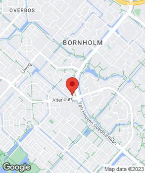 Locatie Van Kouwen Hoofddorp op kaart