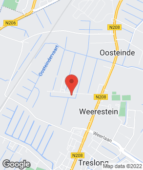 Locatie Garage Hillegom op kaart