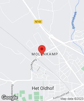 Locatie P.P.M. Geuzendam op kaart