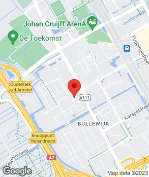 Locatie Automotive-Centre Van Nieuwkerk Amsterdam B.V. op kaart