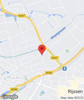 Locatie Van den Belt Auto's op kaart