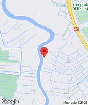 Locatie H. Stam Autobedrijf op kaart