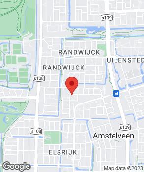 Locatie Van Kouwen Amstelveen op kaart