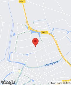 Locatie Automobielbedrijf Schreurs op kaart