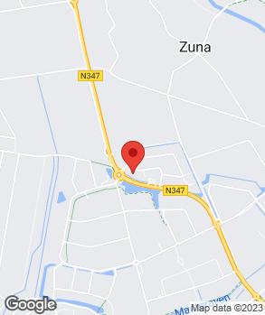 Locatie Broekhuis Rijssen op kaart