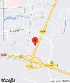 Locatie 't Jan Scholten Team B.V. op kaart