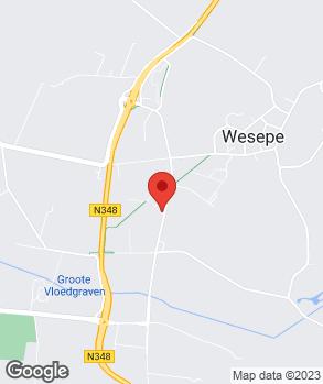 Locatie Auto-Service Wesepe op kaart