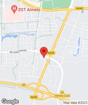 Locatie Broekhuis Almelo 2 B.V.   Smudde Almelo   Broekhuis Oost op kaart