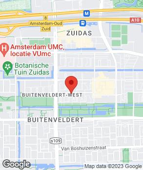 Locatie Autobedrijf A.B.P. den Burger op kaart