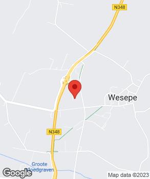 Locatie Carrosseriebedrijf van Emst op kaart