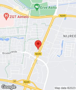Locatie Autobedrijf K. Drent Almelo B.V. op kaart