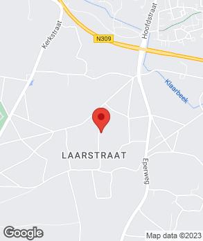Locatie David Vogelaar op kaart