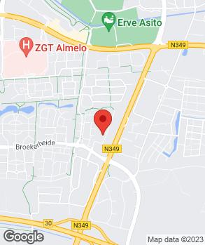 Locatie Vakgarage Almelo op kaart