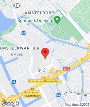 Locatie Garage Grand Prix Amsterdam op kaart