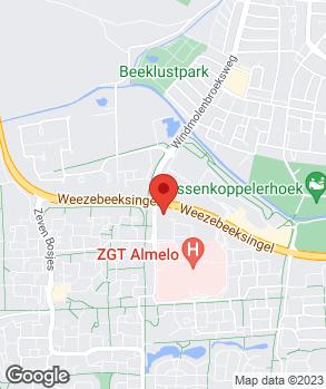 Locatie Autobedrijf Kamp B.V. op kaart