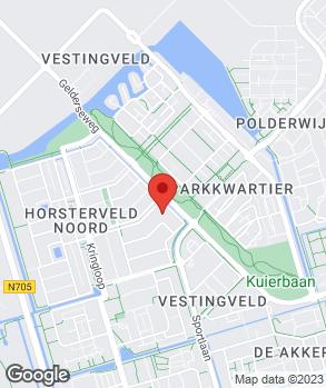 Locatie Flevocampers B.V. op kaart