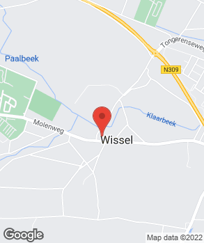 Locatie B.J. Wielart op kaart