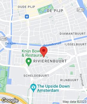 Locatie P. Hessing op kaart