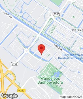 Locatie Svala Auto Lijnden op kaart