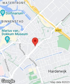 Locatie Hamstra op kaart