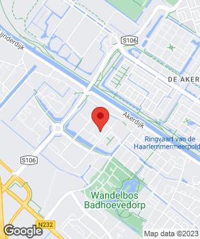 Locatie Autobedrijf Nieuwendijk Badhoevedorp B.V. op kaart