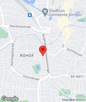 Locatie Autohandel J & M Woudstra V.O.F. op kaart