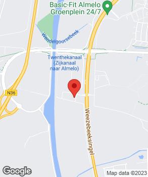 Locatie Het Bandencentrum B.V. op kaart