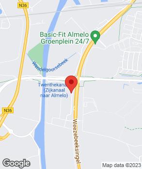 Locatie Regio Autoschade B.V. op kaart