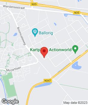 Locatie AD Autobedrijf Jos Fikken op kaart