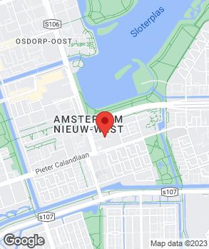 Locatie Autoservice Osdorp op kaart