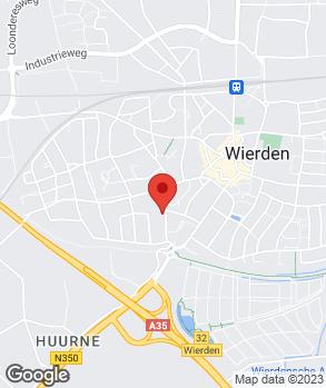 Locatie Weja Aadorp B.V. op kaart