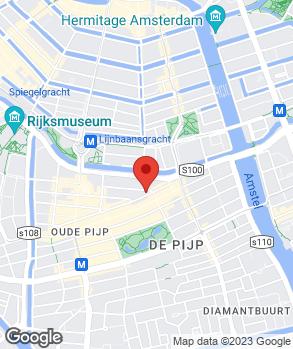 Locatie Westergarage J.C. van der Meij op kaart