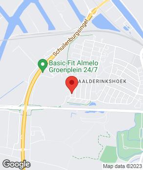 Locatie Autohuis Overijssel op kaart