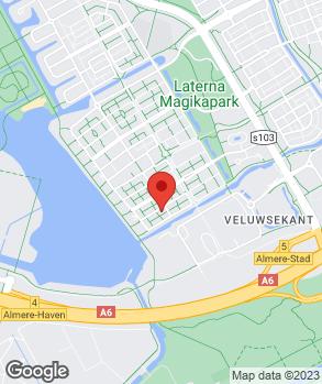 Locatie C.M.G. Services op kaart