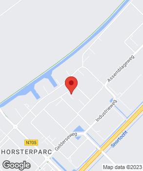 Locatie Van den Brom Auto's op kaart
