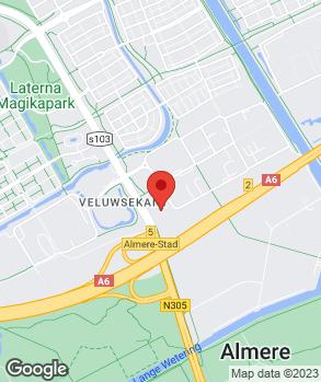 Locatie Ford Store Almere | Schurer-Kamphuis B.V. op kaart