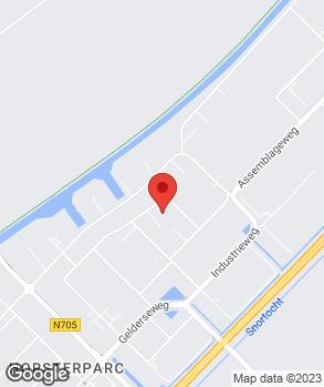 Locatie Autobedrijf Van der Knaap B.V. op kaart