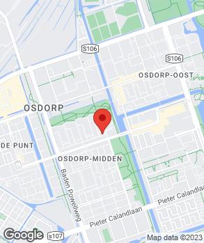 Locatie Garage Tussenmeer op kaart