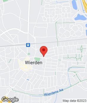 Locatie Autohandel Kotkamp op kaart
