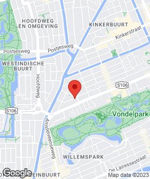 Locatie Autorating.nl op kaart
