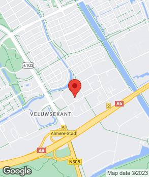 Locatie Autobedrijven Dijkstra Almere B.V. op kaart
